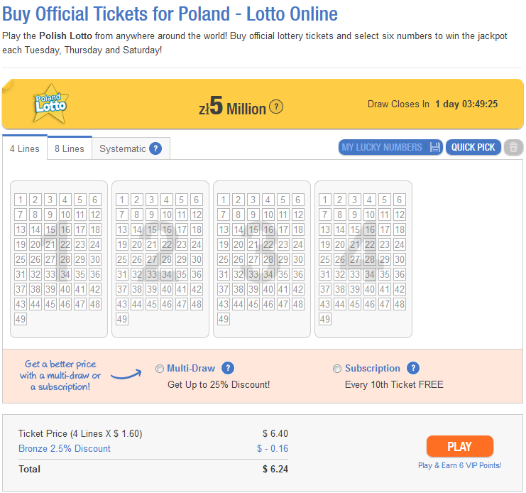 Poland lotto