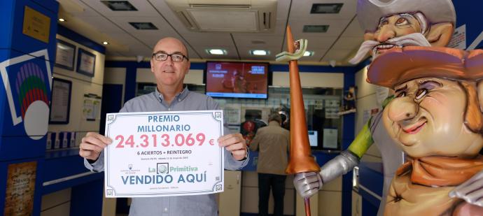 Loteria nacional - a loteria nacional mais antiga da espanha. € jackpot 84 milhão !