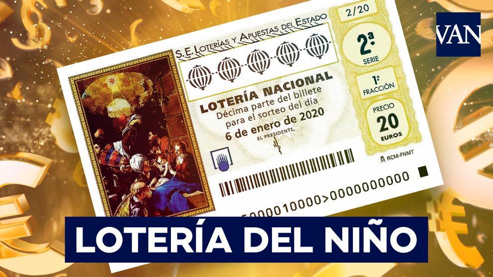 Encontre o número da loteria da criança 2021 - localize o seu décimo