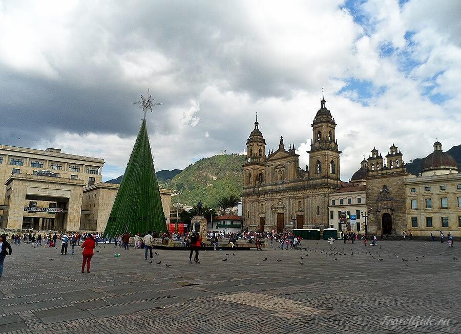 Колумбия - богота - медельин - соляной собор сипакира